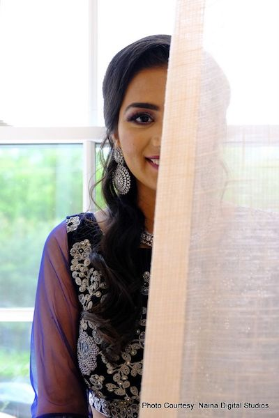 Indian bride ready for her wedding