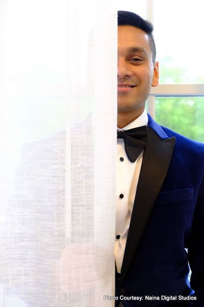Indian Groom waiting for Indian Bride