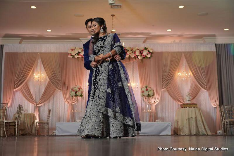 Charming Indian Couple at the reception
