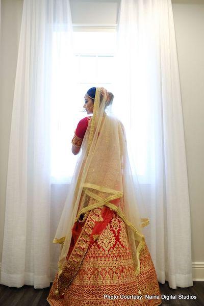 Stunning Indian Bride Wedding Dress