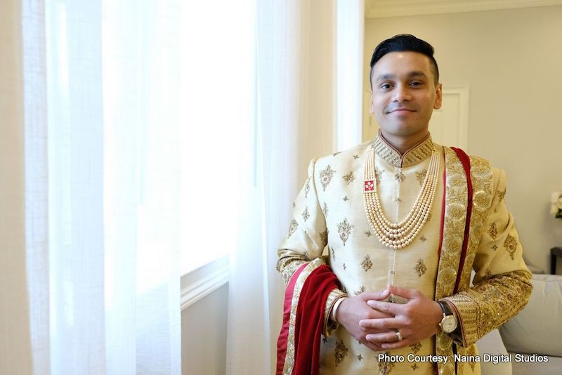 Maharaja Ready for wedding occasion