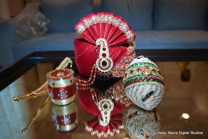 Turban for Indian Groom