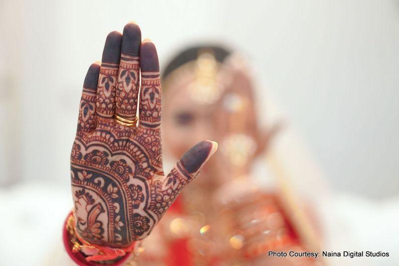Indian Wedding Bridal Mehndi
