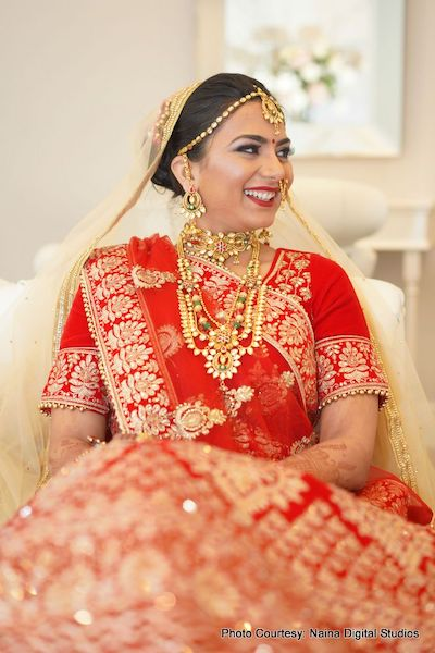 Gorgeous Indian Bride Jwelery
