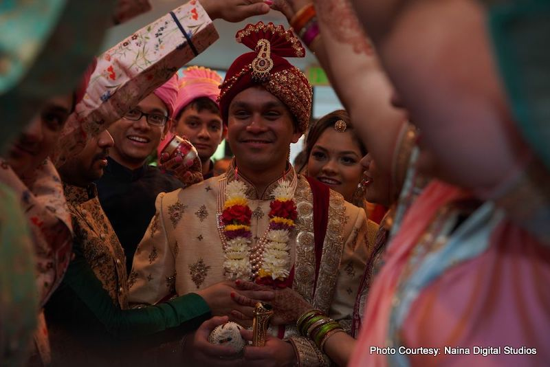 Grand Entrance of Indian Groom