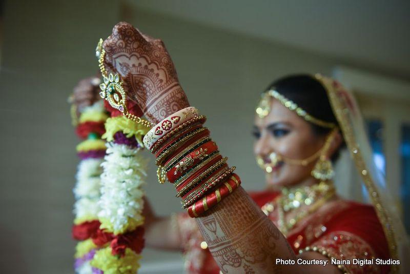 Wedding Garland Ceremony