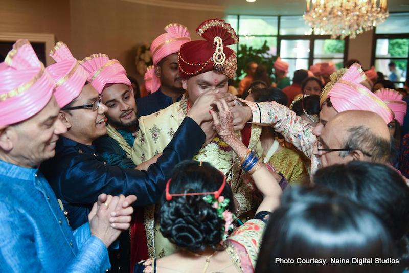 Nose Pinching Indian Wedding ritual