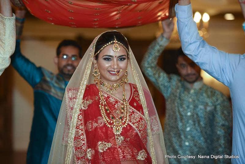 Maharani Making her grand Enterance