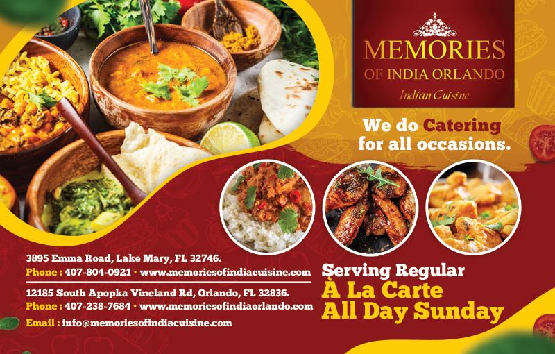 Memories of India - Orlando
