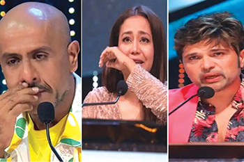 Indian Idol Viewers slam the judges for fake stories