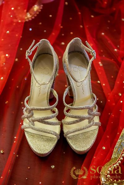 Indian Bride footware