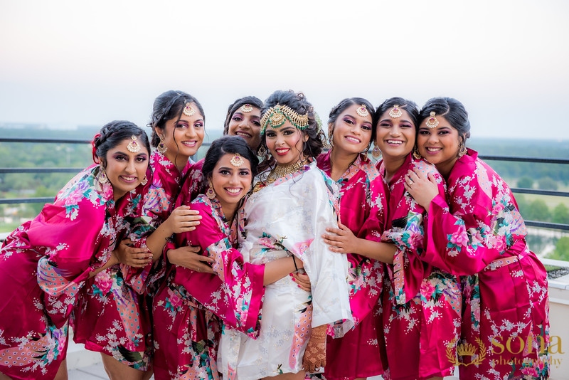 Bridesmaids Capture by Sona Photography