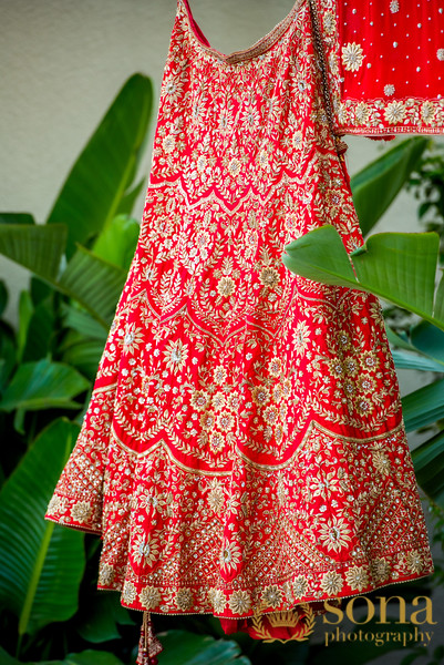 Stunning Indian Bride Gown in Red