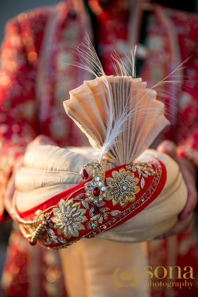 Grooms wedding Turban