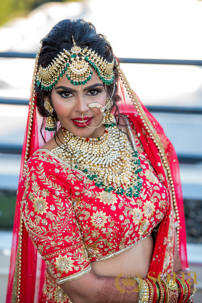 Lovely Pose by Indian Bride