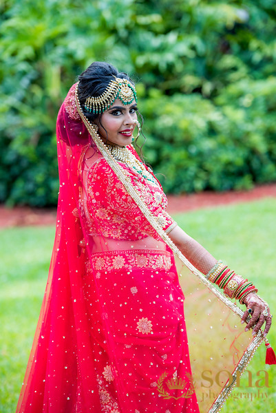 Splendid Indian Bride Outfit