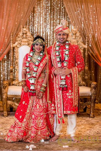 Indian Wedding In Mandap
