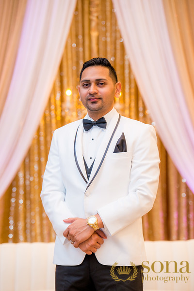 Indian Groom In wedding reception