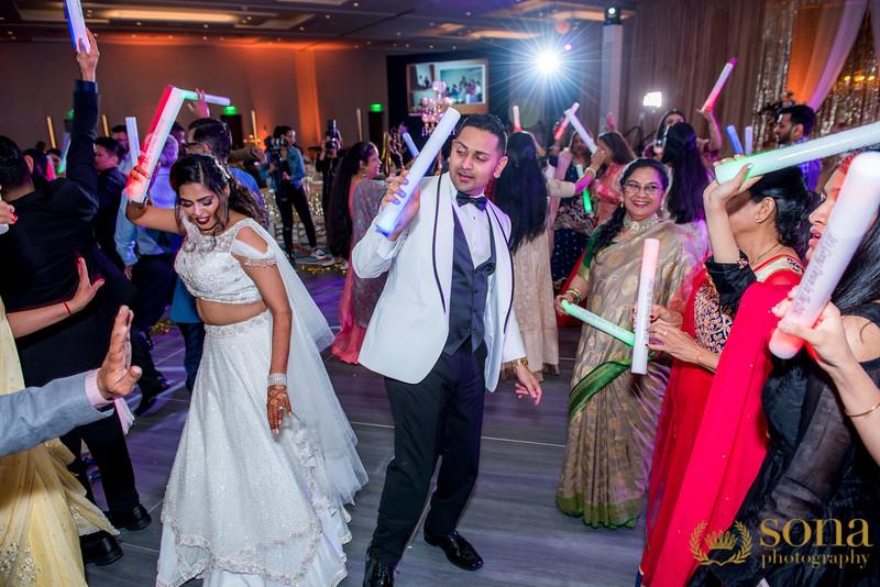 Sangeet Performance at reception